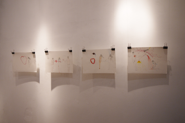 Veronika Dolanská: Drawings About Love and Stuff