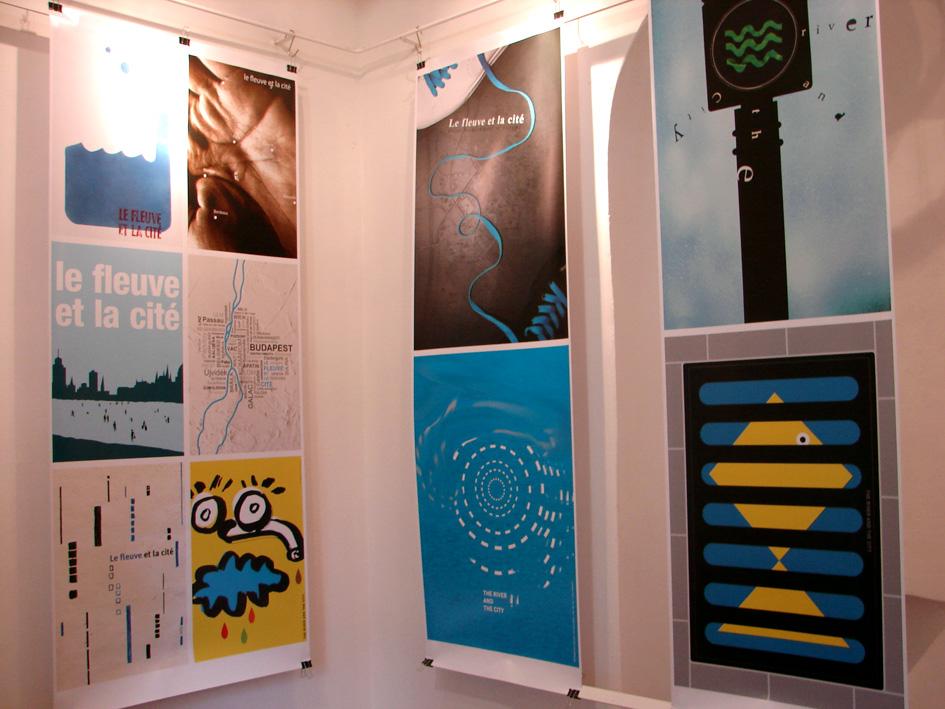 Město a řeka – Mezinárodní projekt mladého grafického designu